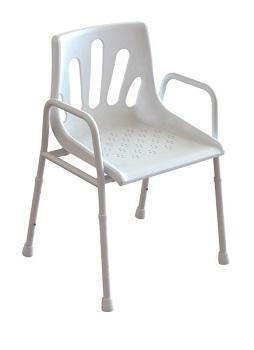 shower chair, redgum, chair, shower, aluminium