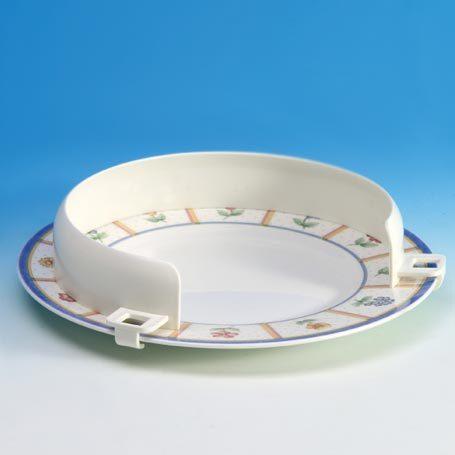 plate guard, non spill